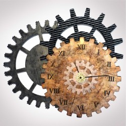 HORLOGE ENGRENAGES