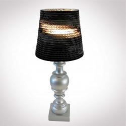 """Lampe """" Shabby chic """"-noir"""