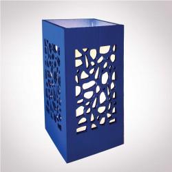 """Lampe """"Rocaille"""" - bleu"""