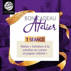 BON CADEAU - Cours création carton personnalisée (2h30)