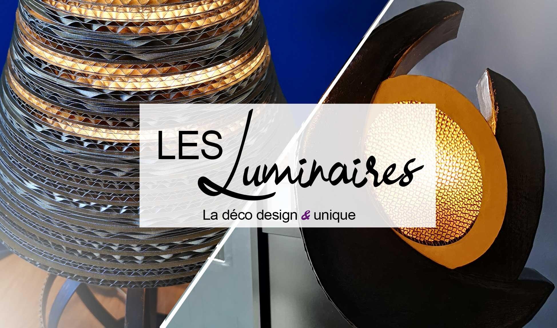 Luminaires design en carton Laura Dambre éco design factory